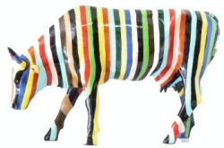 CowParade - Stribed Cow