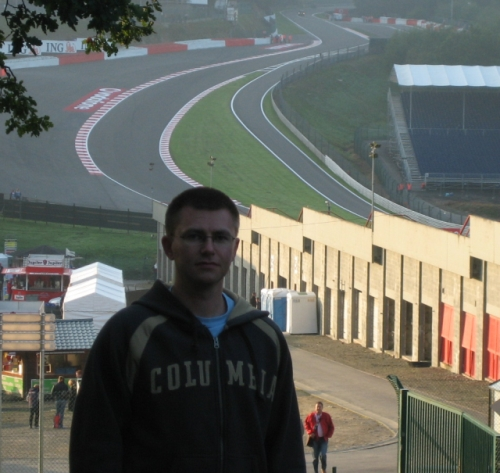 Jan at Eau Rouge / Raidillon section